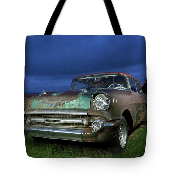 57' Chevrolet Tote Bag