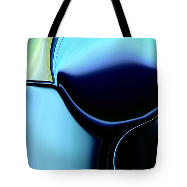 Tote Bag featuring the digital art 57 Distortions by Greg Moores