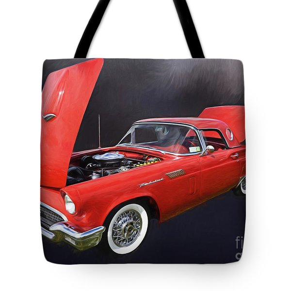 57 Thunderbird Tote Bag by Suzanne Handel