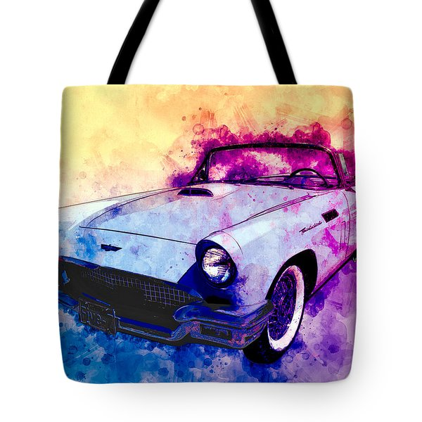 57 Thunderbird Watercolour Tote Bag