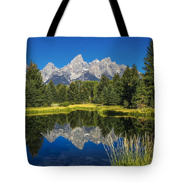 #5700 - Shwabakers Landing, Wyoming Tote Bag