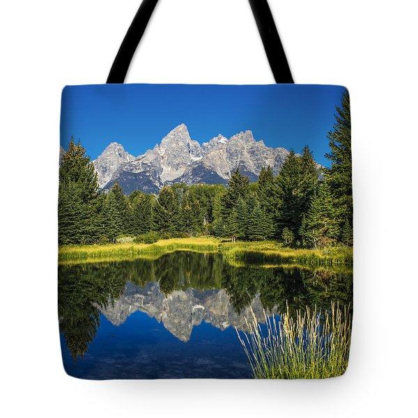 #5700 - Shwabakers Landing, Wyoming Tote Bag