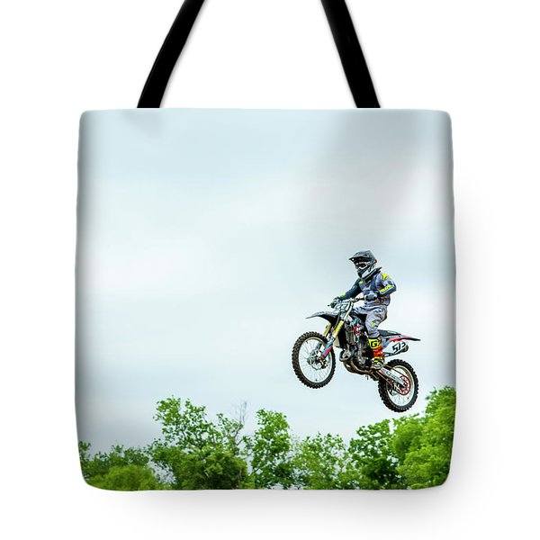 Tote Bag featuring the photograph 573 Flying High At White Knuckle Ranch by David Morefield