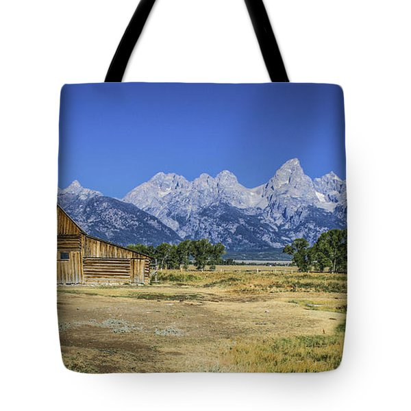 #5730 - Mormon Row, Wyoming Tote Bag