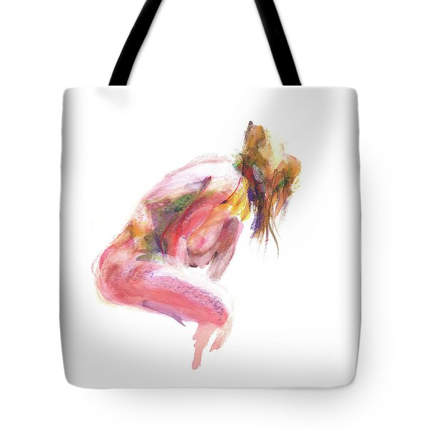 Tote Bag featuring the drawing Rcnpaintings.com by Chris N Rohrbach