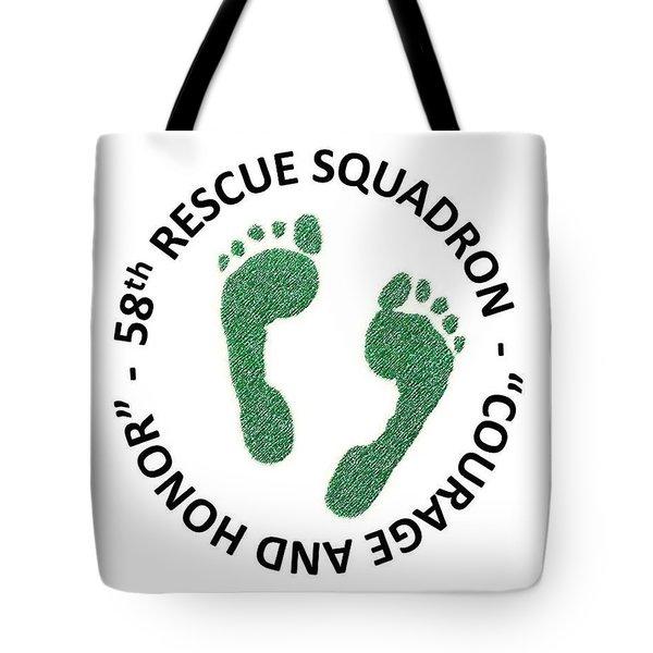 58th Rescue Squadron Tote Bag