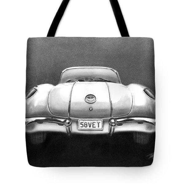 58vet Tote Bag by Peter Piatt
