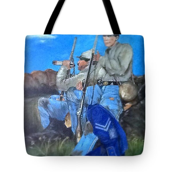 5th Georgia  Infantry Soldiers C.s.a. Tote Bag
