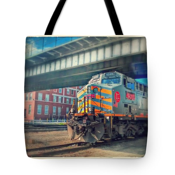 5th Street Bridge Tote Bag by Dustin Soph