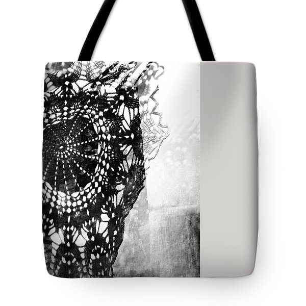 Tote Bag featuring the photograph Issue  by Danica Radman