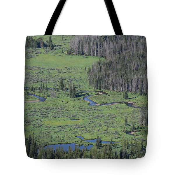 Scenery Rocky Mountain Np Co Tote Bag