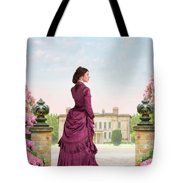 Beautiful Victorian Woman Tote Bag