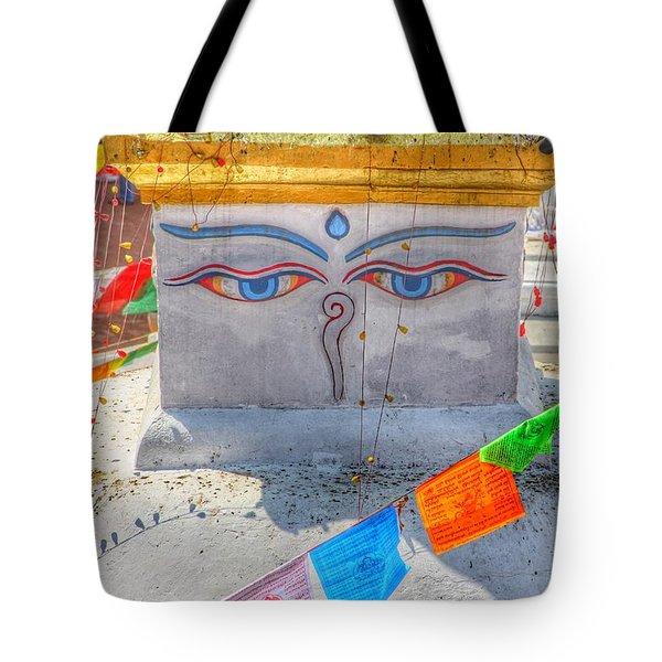 Boudhanath Tote Bag
