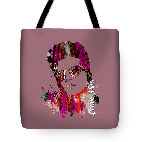 Bruno Mars Collection Tote Bag