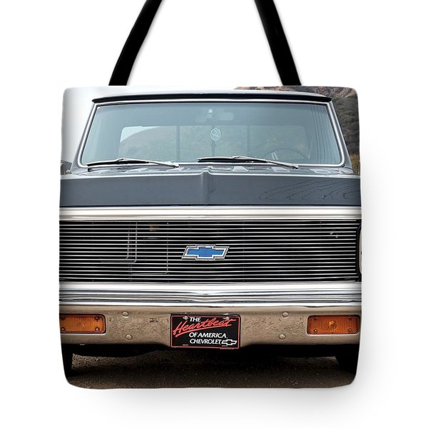 Chevrolet C10 Tote Bag