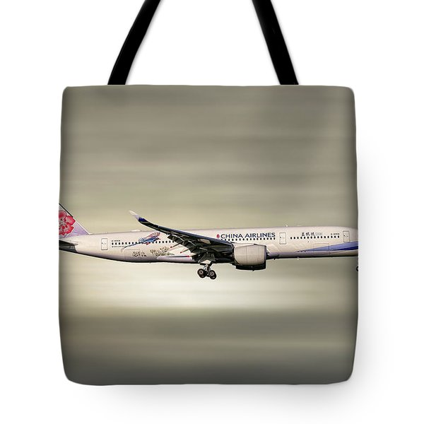 China Airlines Airbus A350-941 Tote Bag