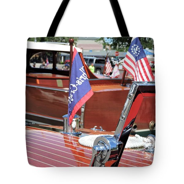 Chris Craft Runabout Tote Bag