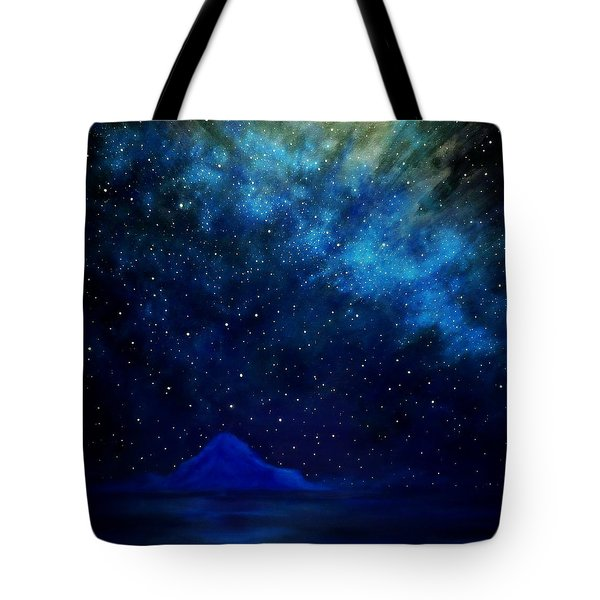 Cosmic Light Series Tote Bag