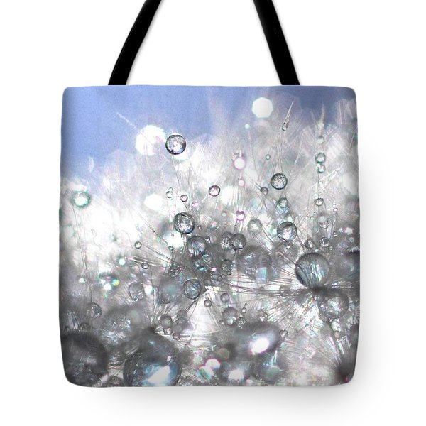 Drops Tote Bag by Sylvie Leandre
