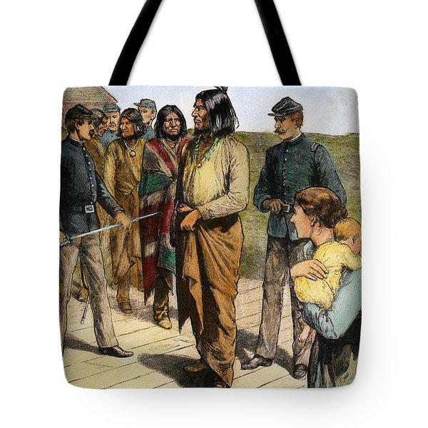 Geronimo (1829-1909) Tote Bag