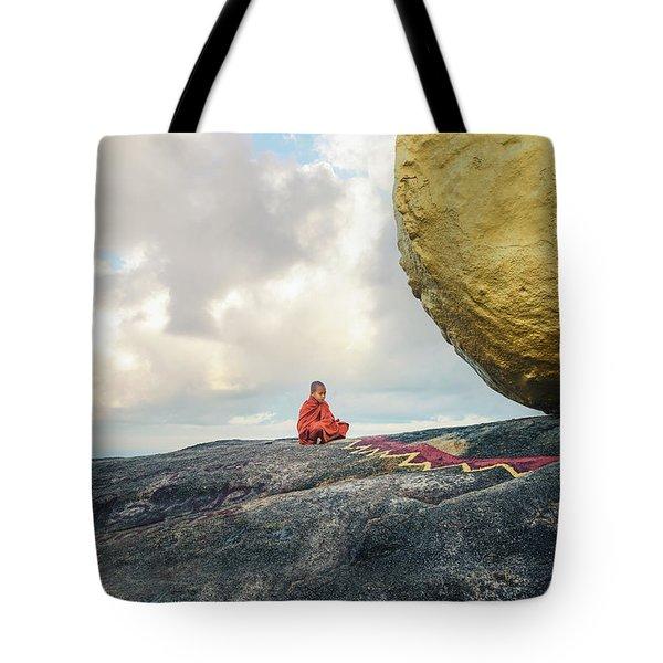 Golden Rock - Myanmar Tote Bag