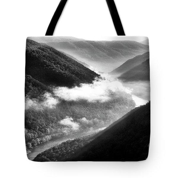 Grandview New River Gorge Tote Bag