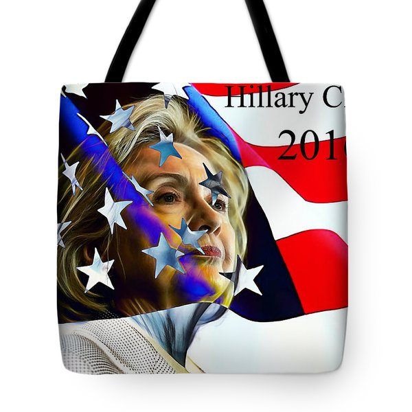 Hillary Clinton 2016 Collection Tote Bag