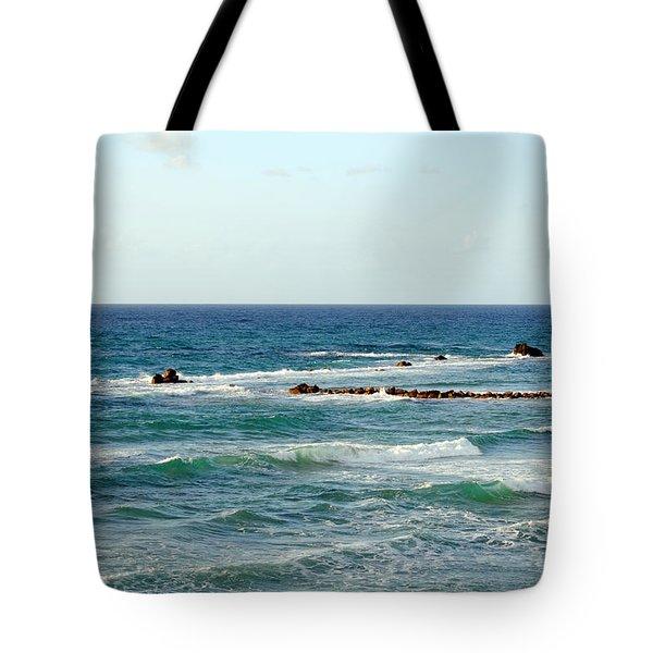 Jaffa Beach 4 Tote Bag