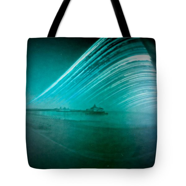 6 Month Exposure Of Eastbourne Pier Tote Bag