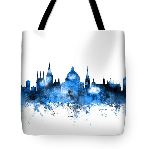 Oxford England Skyline Tote Bag