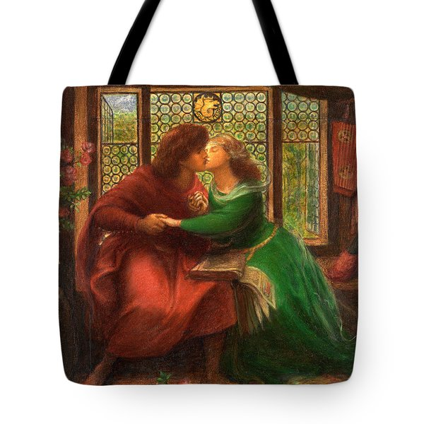 Francesca and Paolo in Hell Tote bag