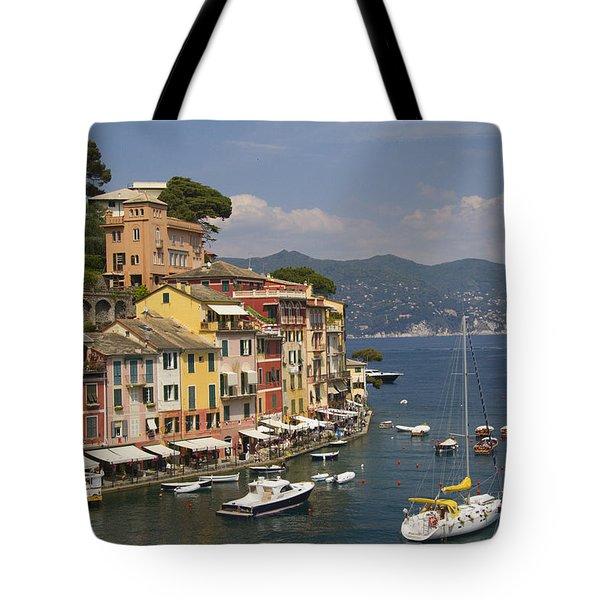 Portofino In The Italian Riviera In Liguria Italy Tote Bag