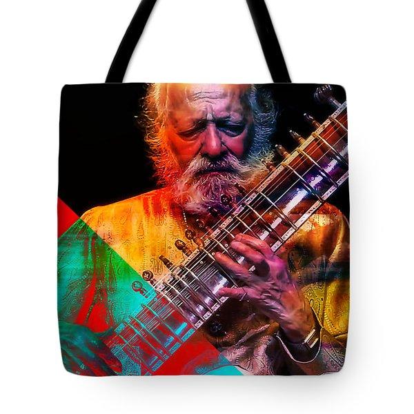 Ravi Shankar Collection Tote Bag by Marvin Blaine