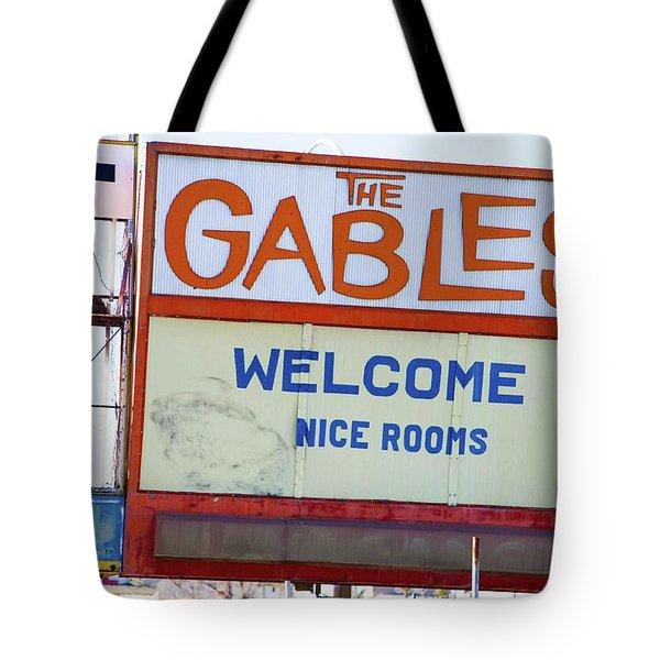 Remnants Of Vintage Vegas Tote Bag