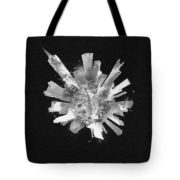 White Skyround Art Of Chicago, United States Tote Bag