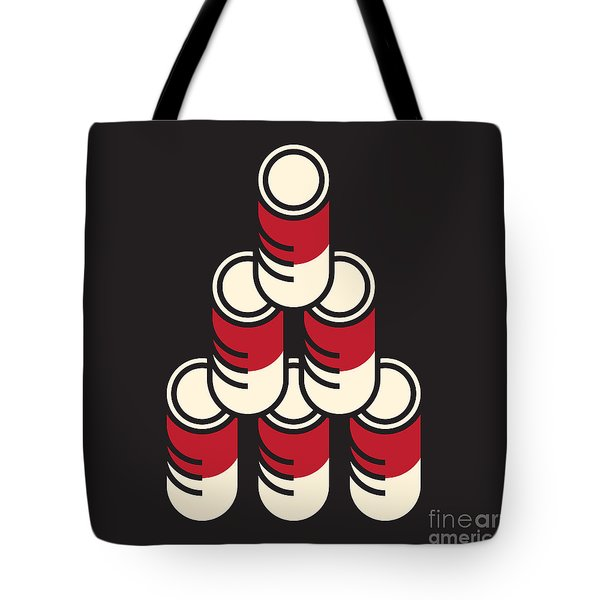 6 Soup Cans Tote Bag