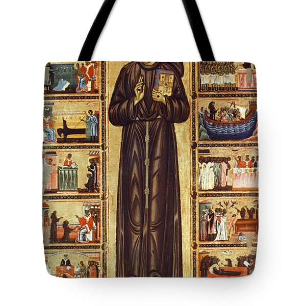 St Francis Of Assisi Tote Bag by Granger