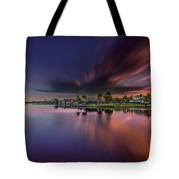 Sunrise At Naples, Florida Tote Bag
