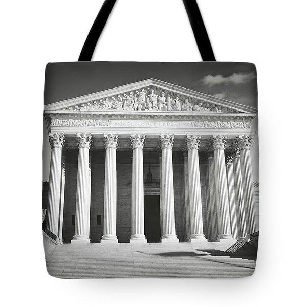 Supreme Court Building Tote Bag