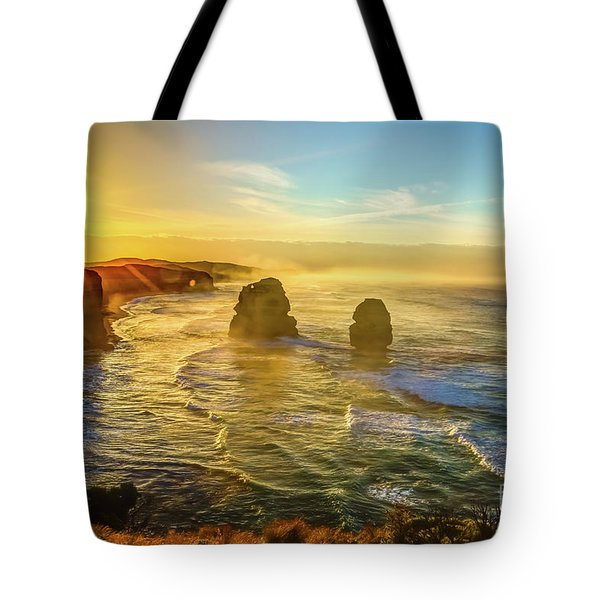 Tote Bag featuring the photograph Twelve Apostles Victoria by Benny Marty
