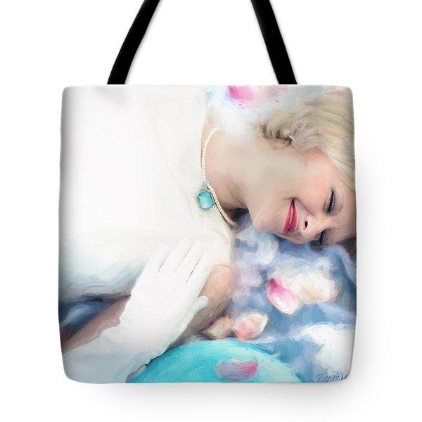 Vintage Val Magnolias Tote Bag