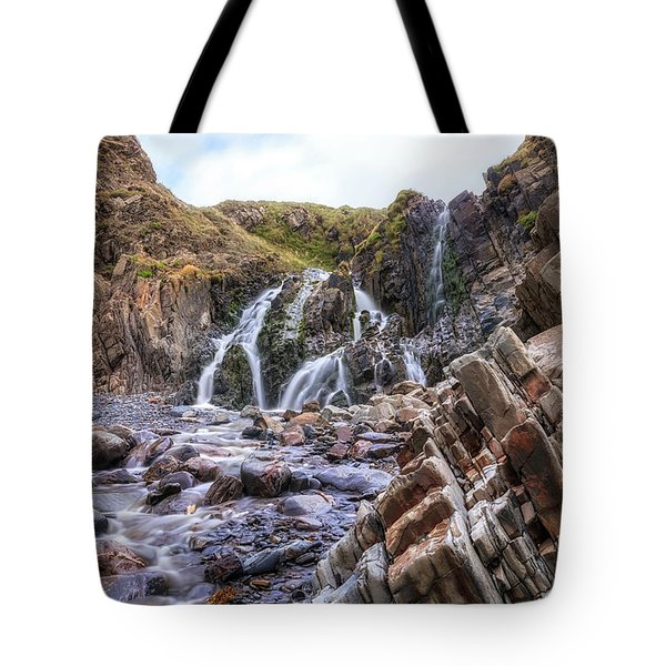 Welcombe Mouth Beach - England Tote Bag