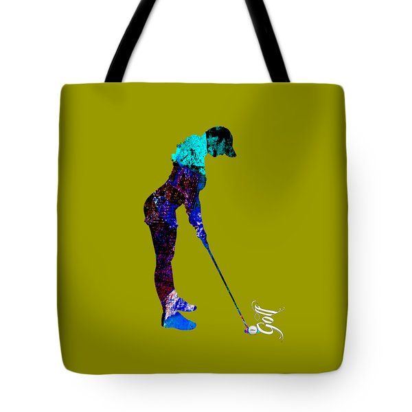 Womens Golf Collection Tote Bag