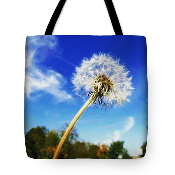 A  Fragile Flower On A Sunny Day Tote Bag