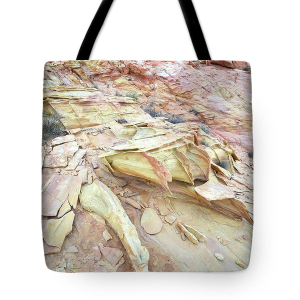Tote Bag featuring the photograph Valley Of Fire by Ray Mathis