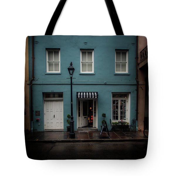 Tote Bag featuring the photograph 608 Bienville Street by Greg Mimbs