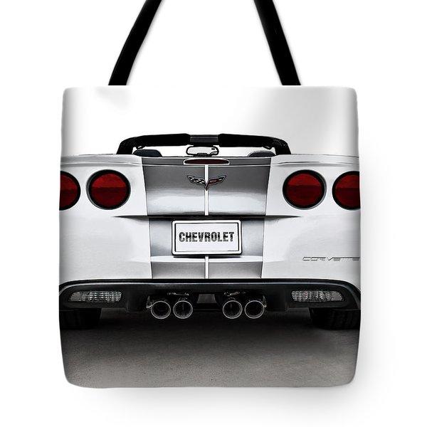60th Anniversary Corvette Tote Bag by Douglas Pittman