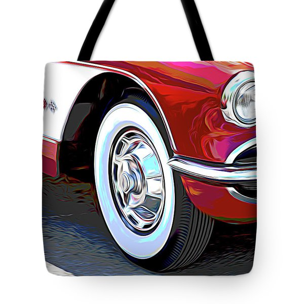 61 Corvette Tote Bag