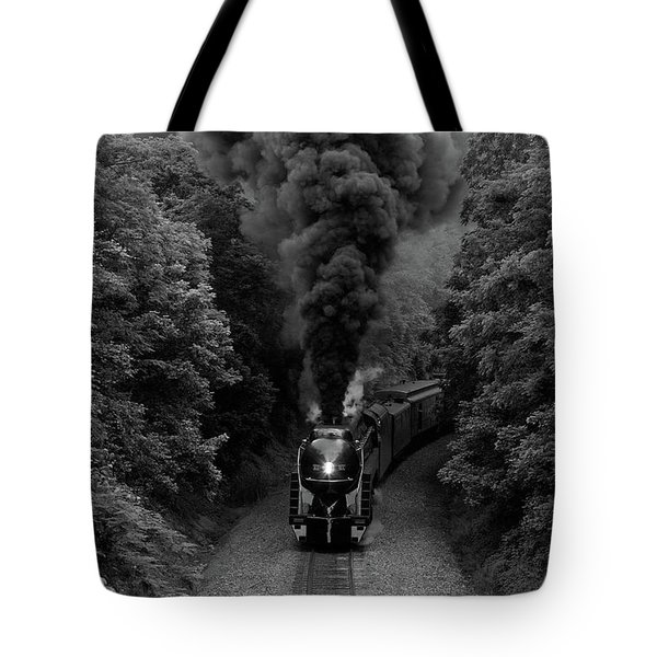 611 At Fiery Road Overpass Tote Bag