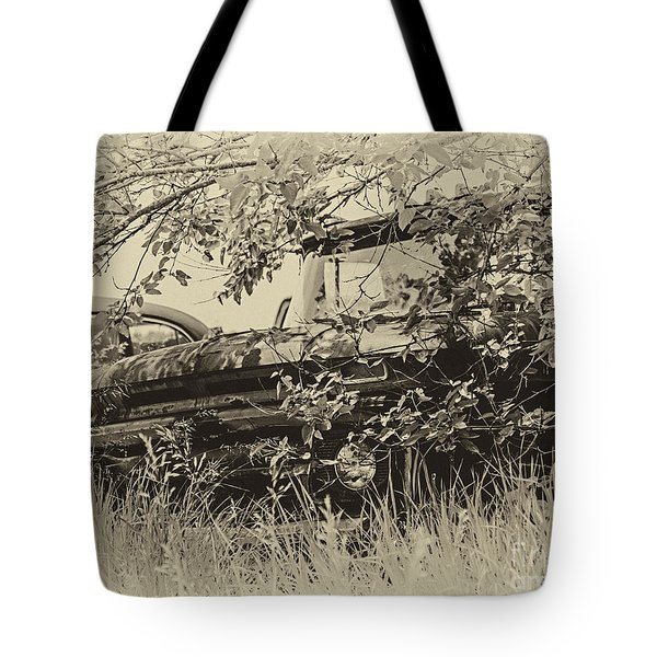 Tote Bag featuring the photograph 62 Chevy Pick Up by JRP Photography